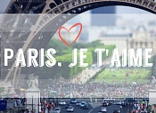 Лагерь с французским языком Paris, je t'aime!